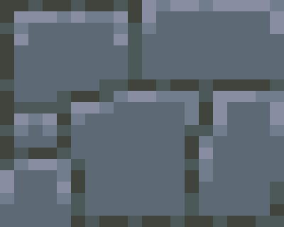 Pixel Art Rocks And Stones